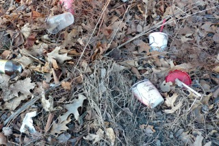 Trash at Bellows Road