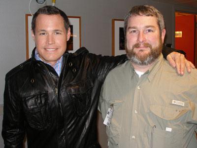 Rick Roth with Jeff Corwin