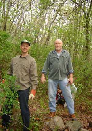 clearing invasive species